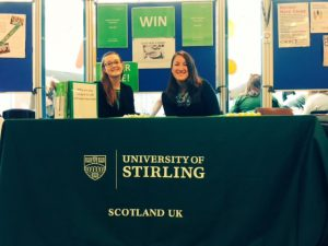 At the Freshers Fair September 2016