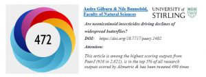 Tweet Example of our Altmetric Communications